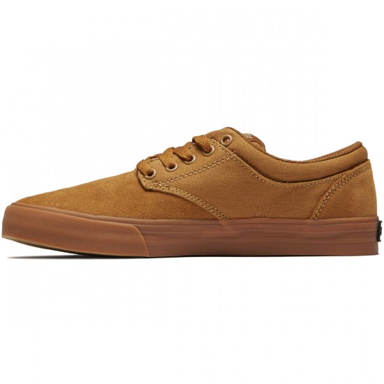 Supra Chino Shoes - Tan/Gum - 8.0