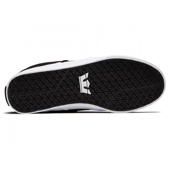 Supra Stacks Vulc II Shoes - Black/Cool Grey/White - 8.0