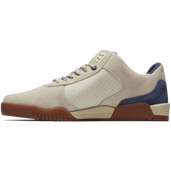 Supra Ellington Shoes - Bone/Indigo/White - 8.5