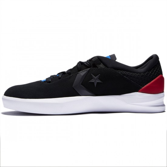Converse Cons Metric CLS Shoes - Black/Blue/Red - 8.0