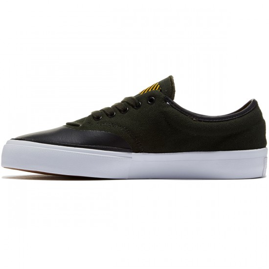 Converse Crimson OX Canvas Shoes - Green/Onyx/Black/Yellow - 8.0