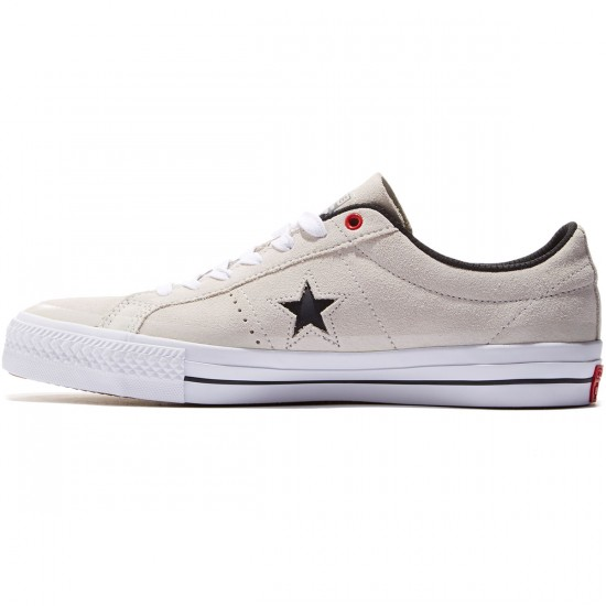 Converse One Star Pro Shoes - Buff/Black/White - 8.0