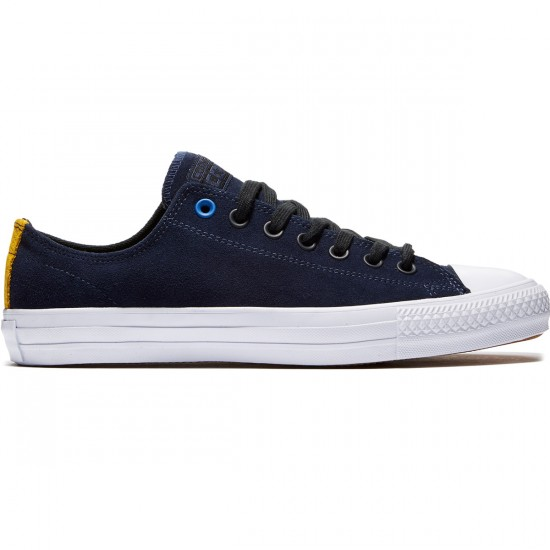 Converse CTAS Pro Suede Shoes - Obsidian/Black/White - 8.0