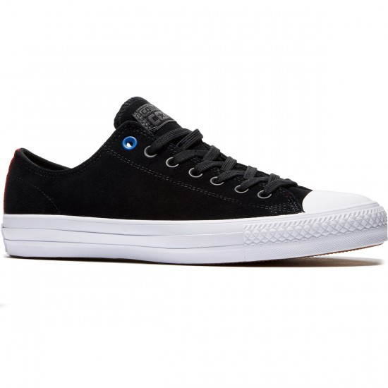 Converse CTAS Pro Suede Shoes - Black/White/Black - 8.0
