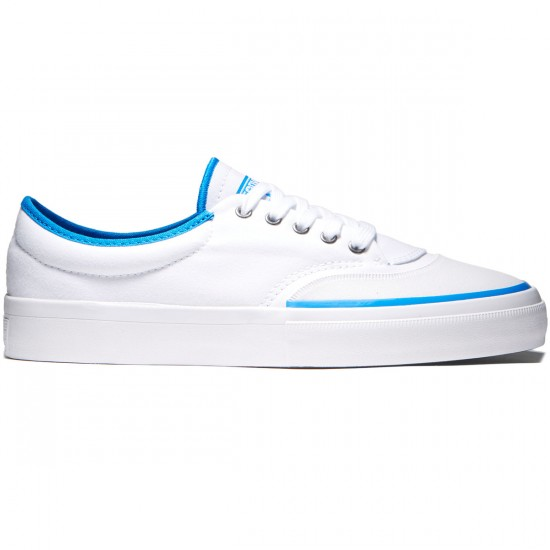 Converse Crimson OX Canvas Shoes - Rubber White/White/Soar - 8.0