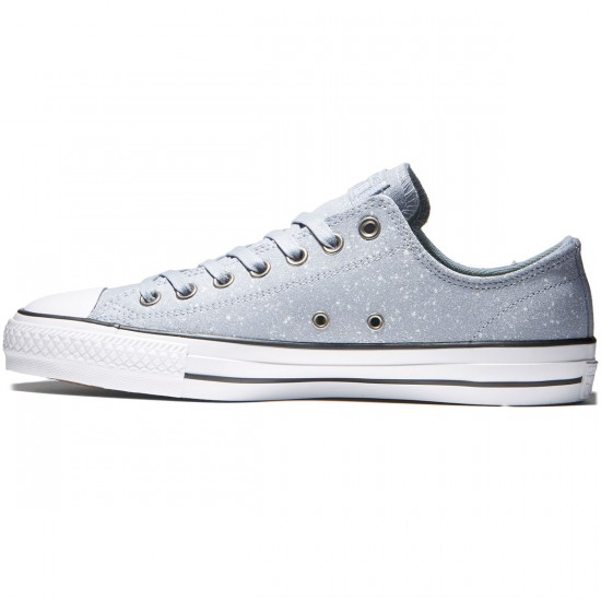 Converse CTAS Pro OX Pepper Suede Shoes - Blue Granite/White/Blue Granite - 8.0