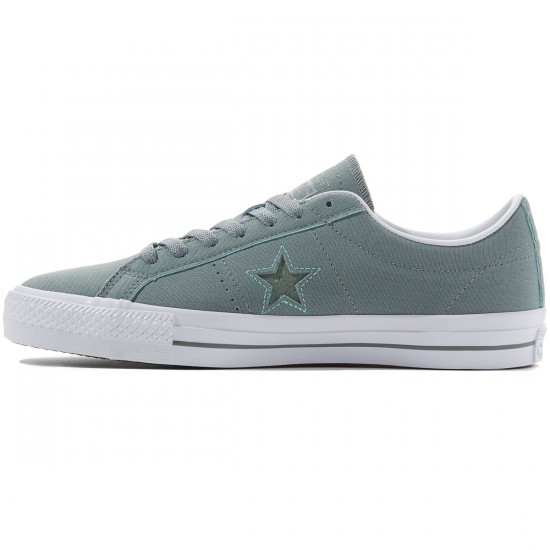 Converse One Star Pro Ox Shoes - Lite Green/Peppermint/White
