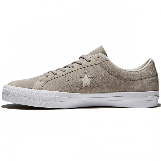 Converse One Star Pro Shoes - Malted/Pale Putty/White Suede - 8.0