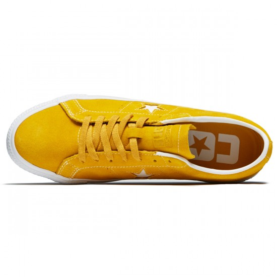Converse One Star Pro Ox Shoes - Mineral Yellow/White/Black - 8.0