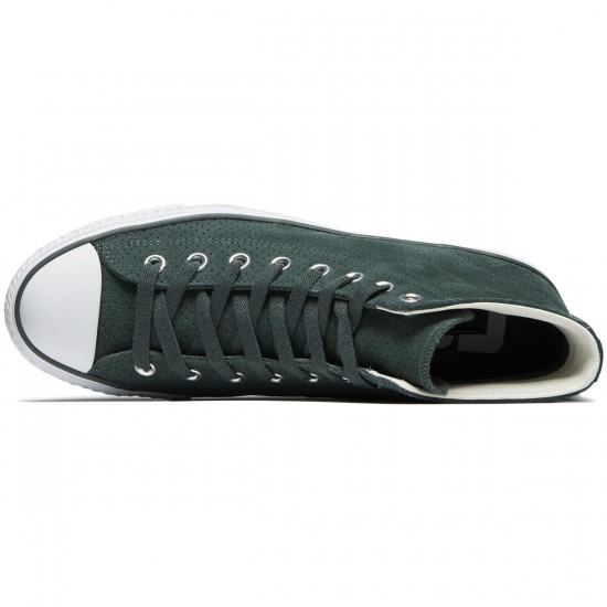 Converse CTAS Pro Hi Shoes - Vintage Green/Egret/White - 8.0