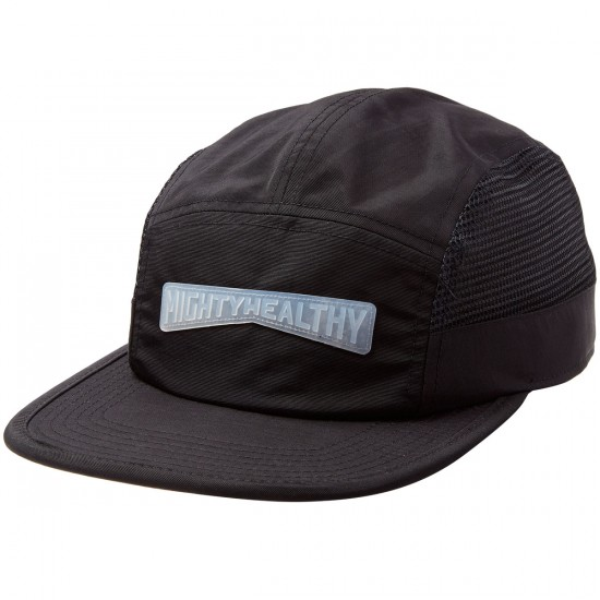 Mighty Healthy Short Brim Racer Hat - Black