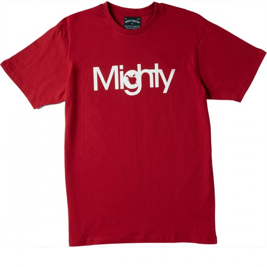 Mighty Healthy The Mighty T-Shirt - Red