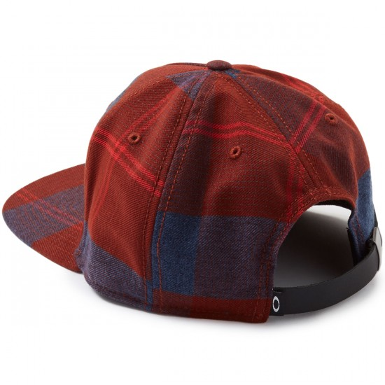 Oakley FP Novelty Snapback Hat - Fired Brick