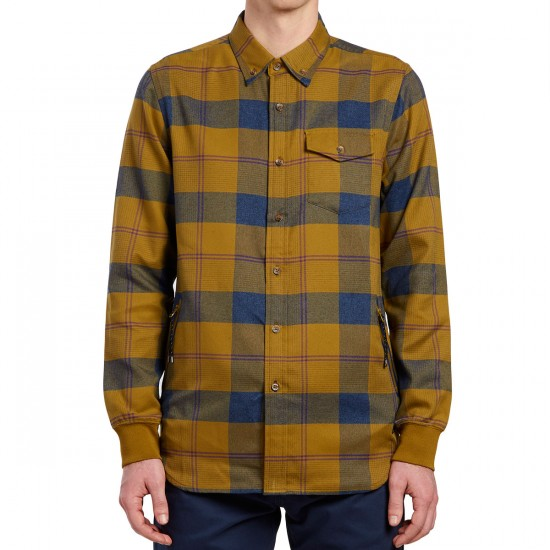 Oakley FP DWR Flannel Shirt - Burnished