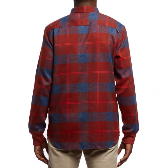 Oakley FP DWR Flannel Shirt - Fired Brick