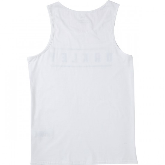 Oakley Double Stack Tank Top - White