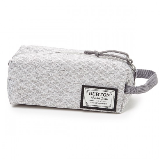 Burton Accessory Case - Grey Heather Diamond Ripstop