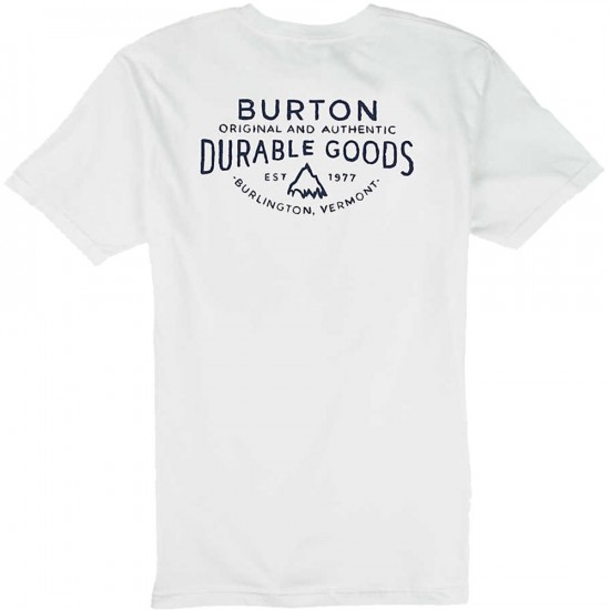 Burton Crafted Pocket T-Shirt - Stout White