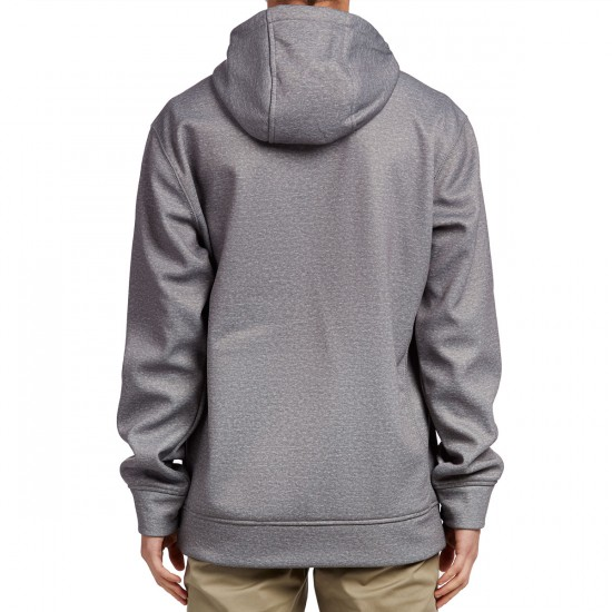 Burton Crown Bonded Pullover Hoodie - Monument Heather Air