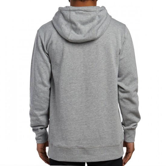 Burton Durable Goods Full Zip Hoodie - Grey Heather
