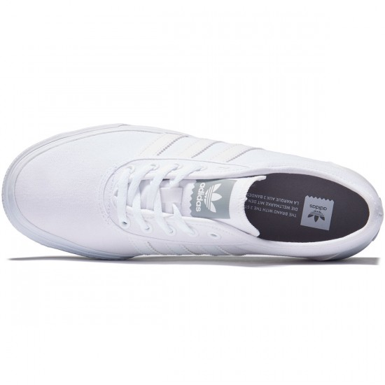 Adidas adi Ease Shoes - White/White/White - 8.0