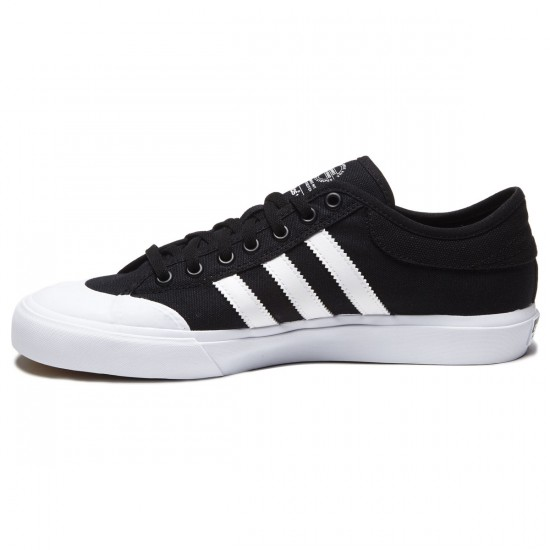 Adidas Matchcourt Shoes - Black/White/Black - 8.0