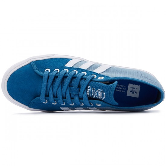 Adidas Matchcourt RX Shoes - Blue/White/Tactile Blue - 8.0