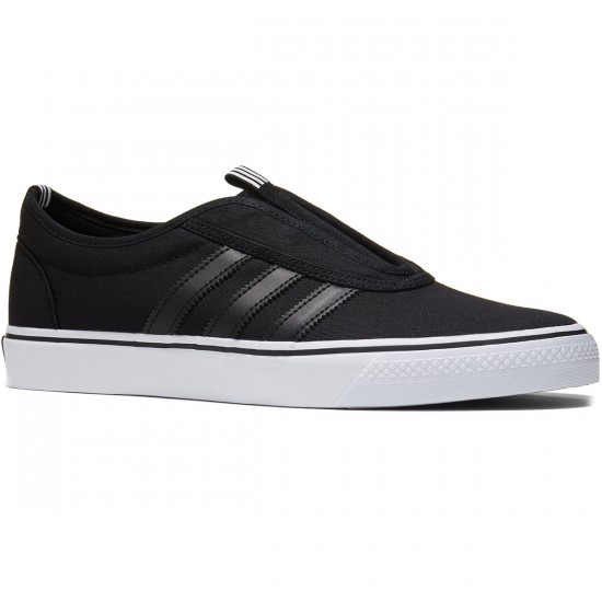 Adidas Adi-Ease Kung Fu Shoes - Black/White/Black - 7.0
