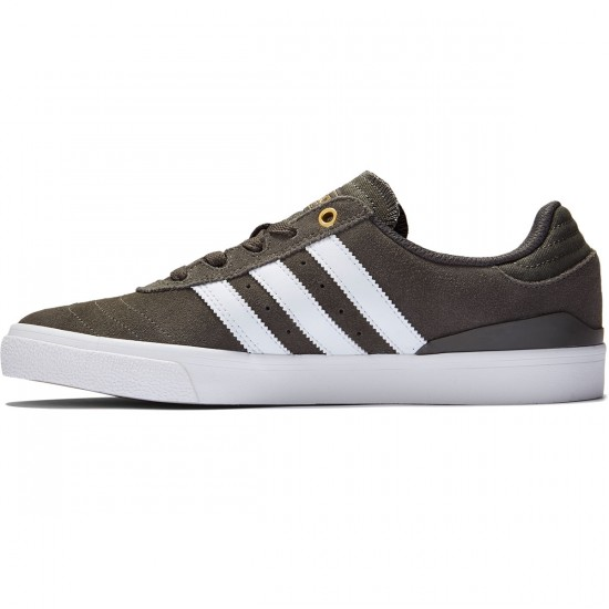 Adidas Busenitz Vulc Adv Shoes - Utility Grey/Crystal White/Gold Metallic - 10.5