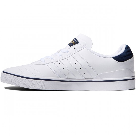 Adidas Busenitz Vulc Adv Shoes - White/Navy/White - 10.0