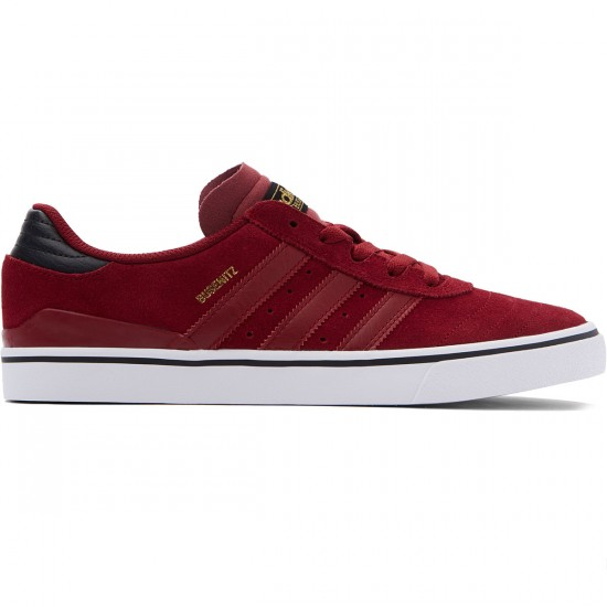 Adidas Busenitz Vulc Adv Shoes - Burgundy/Black/White - 8.0