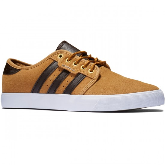 Adidas Seeley Shoes - Mesa/Dark Brown/White - 8.0