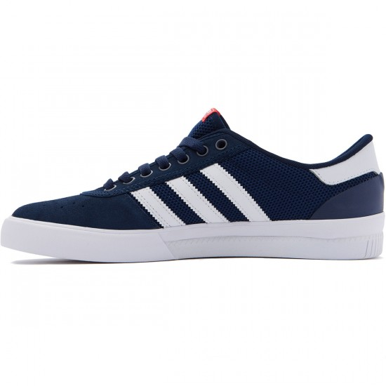 Adidas Lucas Premiere ADV Shoes - Navy/White/Scarlet - 7.0
