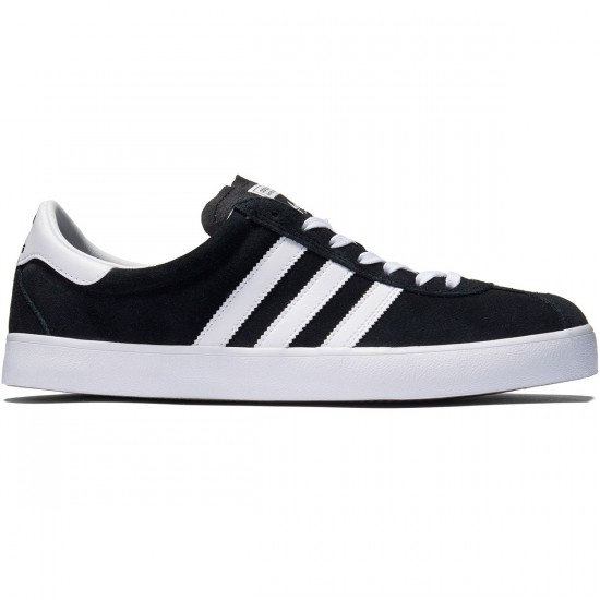 Adidas Skate ADV Shoes - Black/White/Gum - 8.0