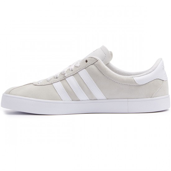 Adidas Skate ADV Shoes - Crystal White/White/Gold Metallic - 8.0