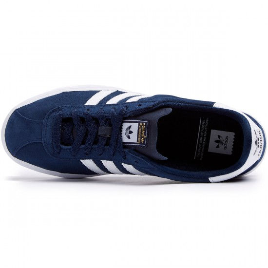 Adidas Skate ADV Shoes - Navy/White/White - 8.0