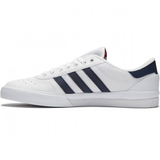 Adidas Lucas Premiere ADV Shoes - White/Navy/Scarlet - 9.5