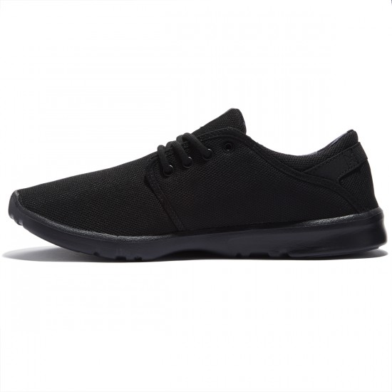 Etnies Scout Shoes - Black/Grey/Black - 8.0