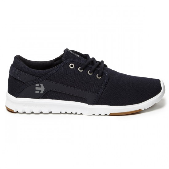 Etnies Scout Shoes - Navy/Gum/White - 8.0