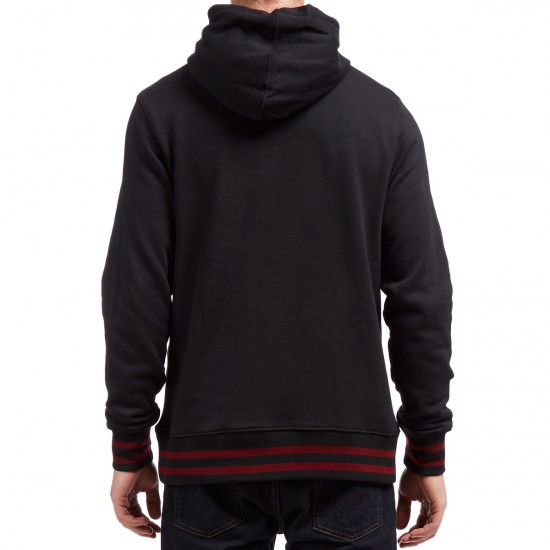 Etnies E-Corp Pullover Hoodie - Black/Red