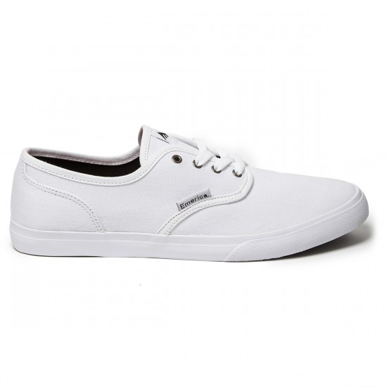 Emerica Wino Cruiser Shoes - White - 8.0