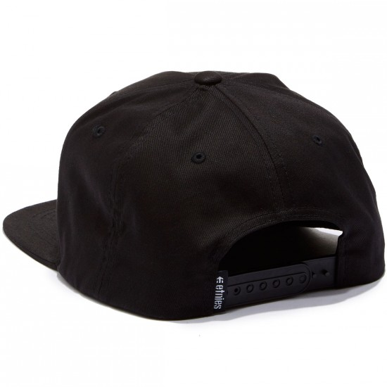 Etnies Performer Snapback Hat - Black