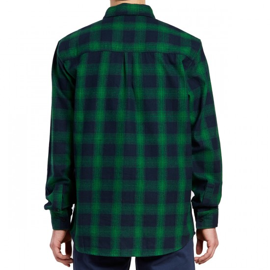 Emerica Strummer Flannel Shirt - Green