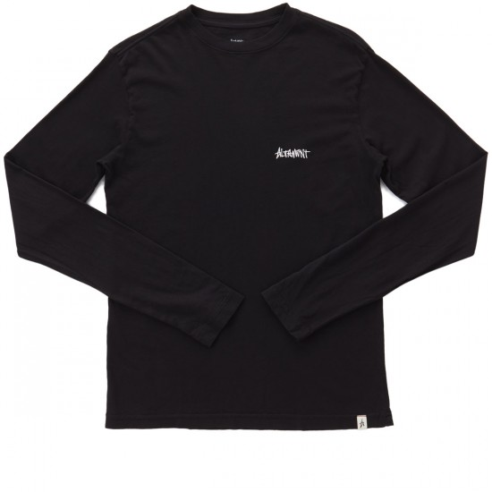 Altamont One Liner Embroidery Long Sleeve T-Shirt - Black