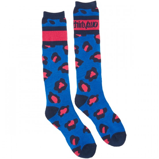 Thirty Two Merced Womens Socks - Blue
