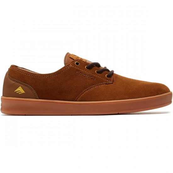 Emerica The Romero Laced Shoes - Brown/Gum/Brown - 8.0