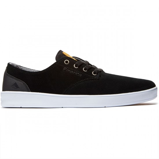 Emerica The Romero Laced Shoes - Black/Black/White - 8.0