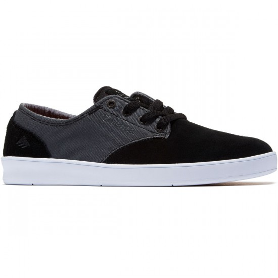 Emerica The Romero Laced Shoes - Black/Grey - 8.0