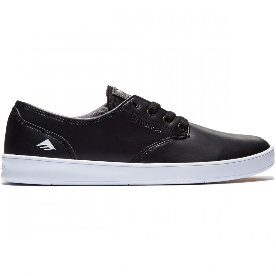 Emerica The Romero Laced Shoes - Black/White/White - 8.0