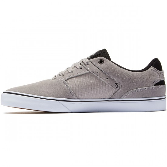 Emerica The Reynolds Low Vulc Shoes - Grey/Black - 8.0